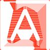 a-logo-white